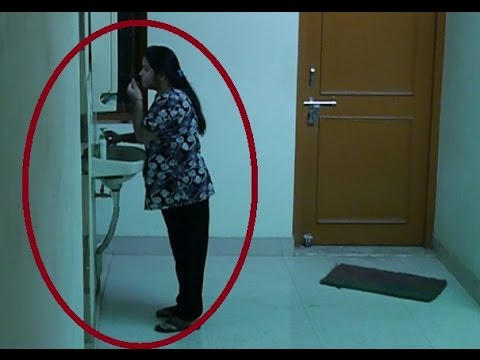 Ghost try to talk with girl paranormal activity caught for Paranormal activities in the world