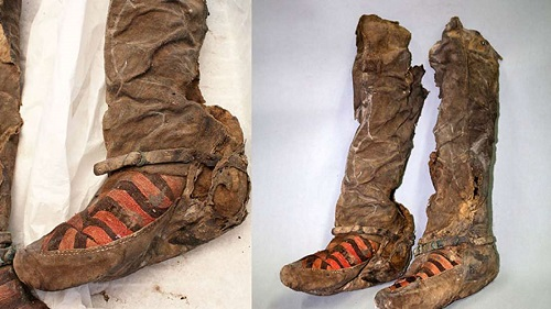 Archeologists Restore The 1,100-Year-Old Mummy With Adidas Trainers