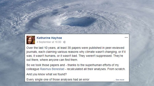 Scientist Slams Climate Change Deniers In Brilliant Viral Post